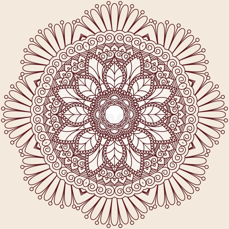 Free Ornamental Round Lace Pattern. Royalty Free Stock Photo - 45220635