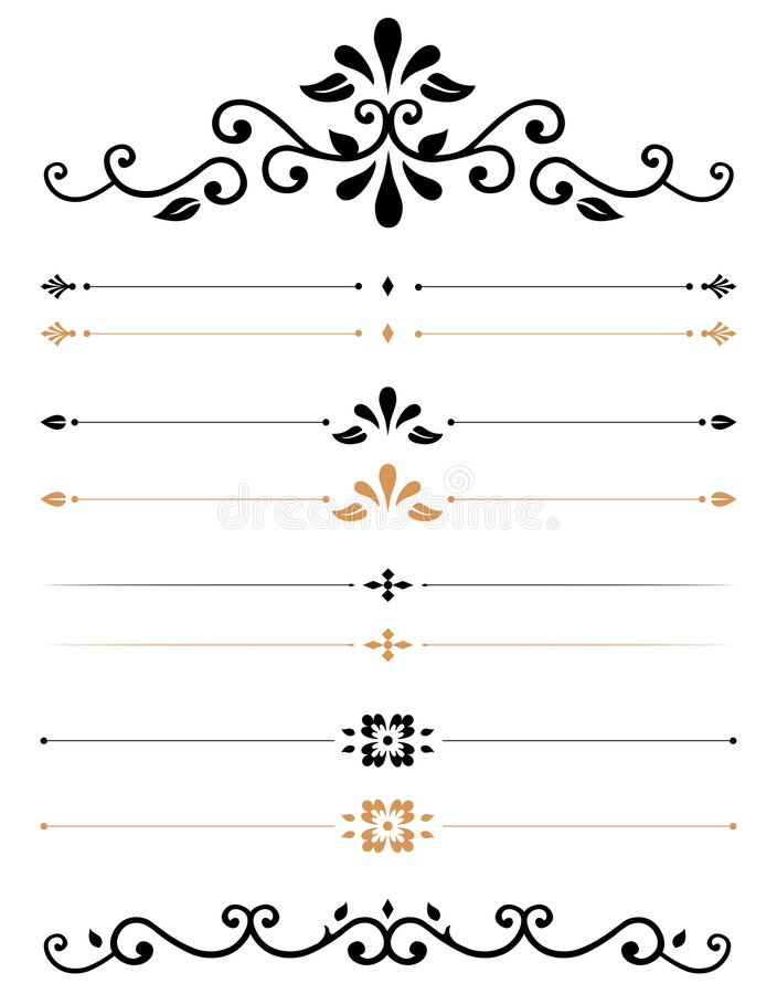 Free Ornamental Rules Stock Image - 2393901