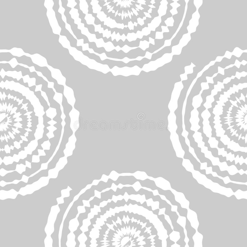 Ornamental seamless pattern. Abstract background can be used for wallpaper, website, textile, prints, fabric, wrapping paper. Ornamental seamless pattern with stock illustration