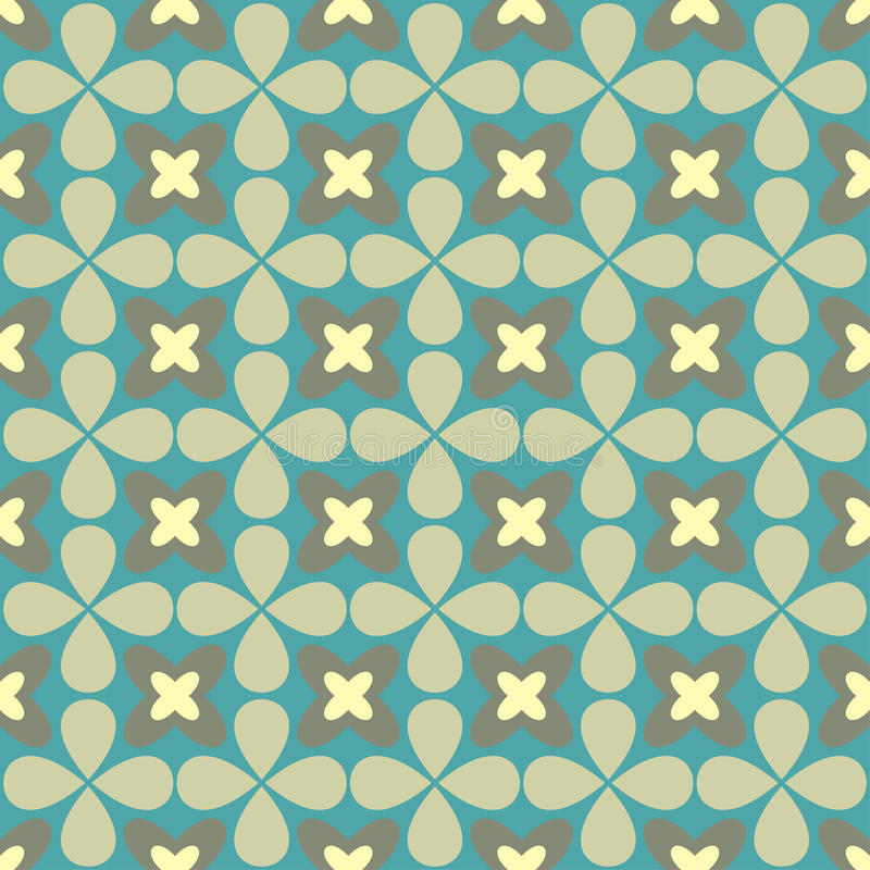Ornamental seamless pattern. Vector floral background. Endless texture can be used for printing onto fabric, paper or scrap booking, wallpaper, pattern fills vector illustration
