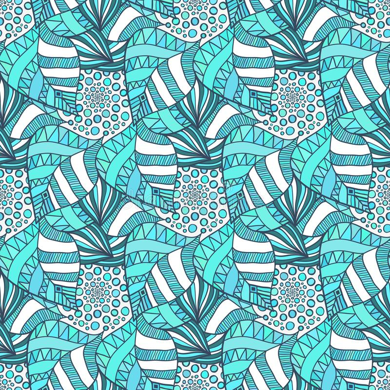Ornamental seamless pattern. Vector textile texture. vector illustration