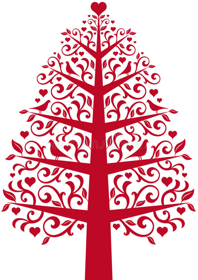 Download Ornamental tree stock vector. Image of tree, background - 12011166