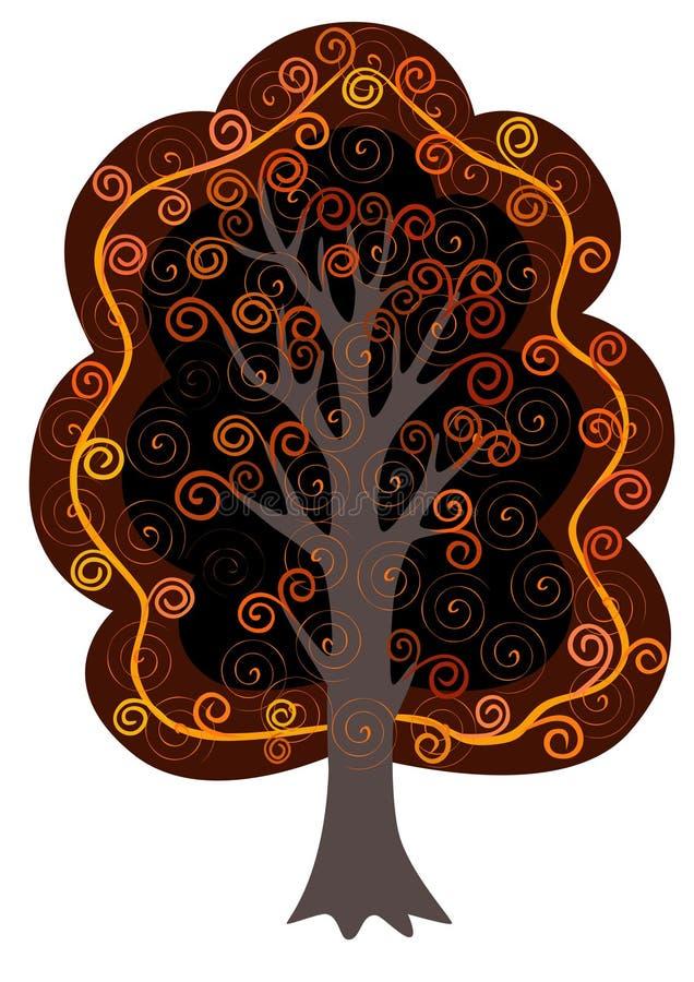 Download Ornamental tree stock vector. Image of magic, decorative - 22920841