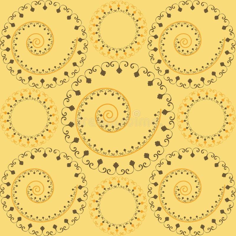 ornamental wzór royalty ilustracja