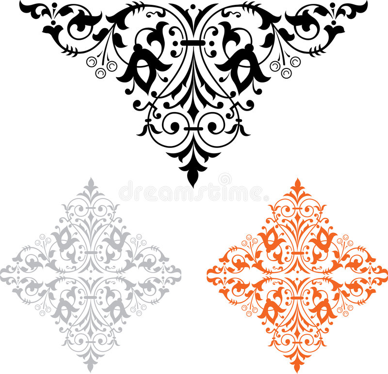 Ornamentale royalty illustrazione gratis