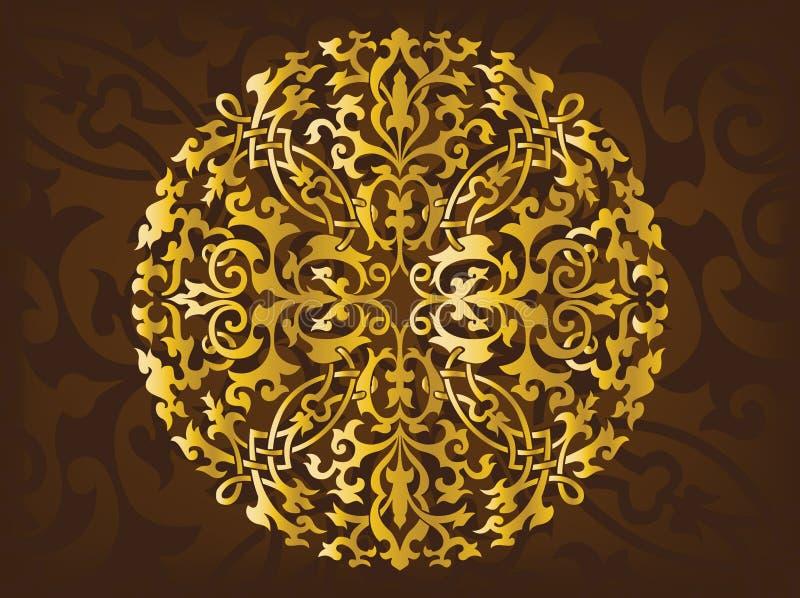 Ornamenti arabi royalty illustrazione gratis
