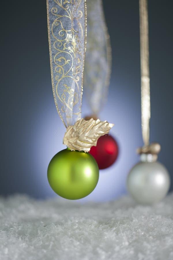 Ornamenti atipici di natale fotografie stock libere da diritti