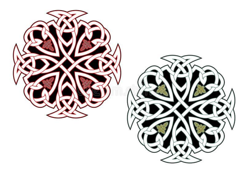 Ornamenti celtici royalty illustrazione gratis