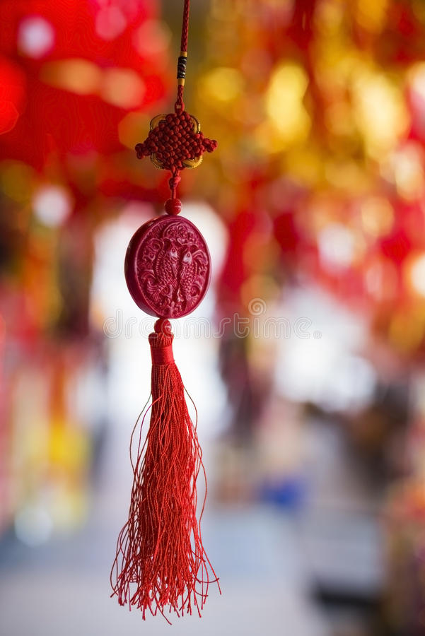 Ornamenti cinesi di nuovo anno fotografia stock