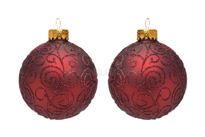 Ornamenti dell'albero di Natale I fotografia stock