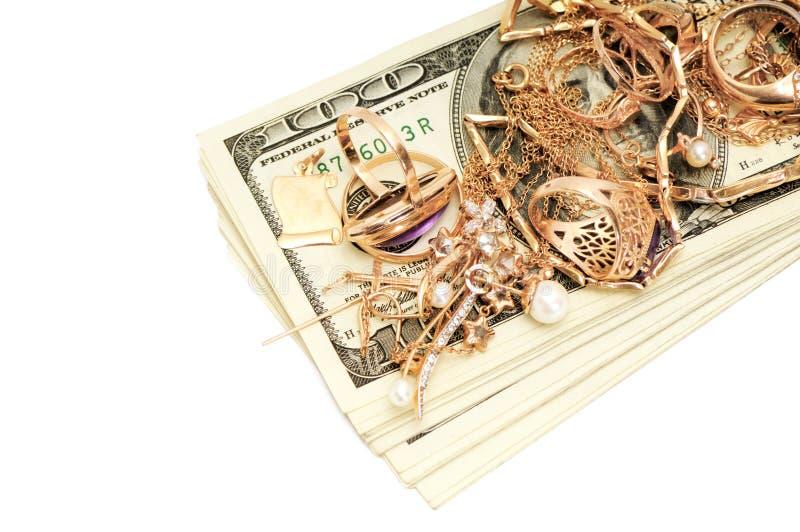 Ornamenti dell'oro immagine stock libera da diritti
