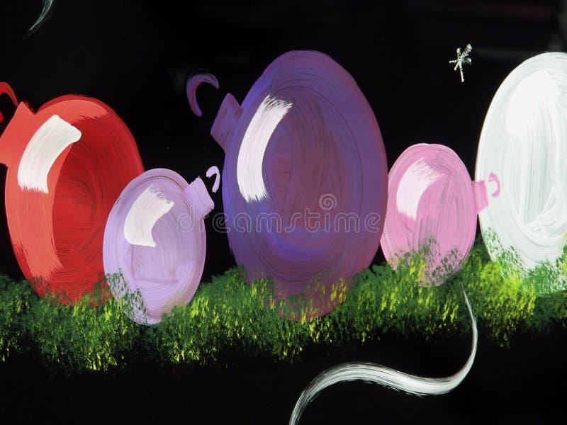 Ornamenti della finestra - 1 immagine stock