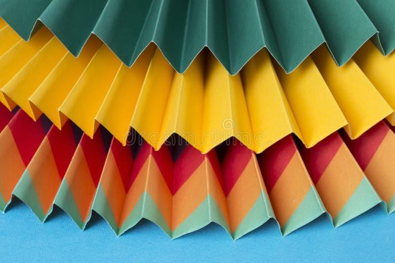 Ornamenti di carta fotografia stock