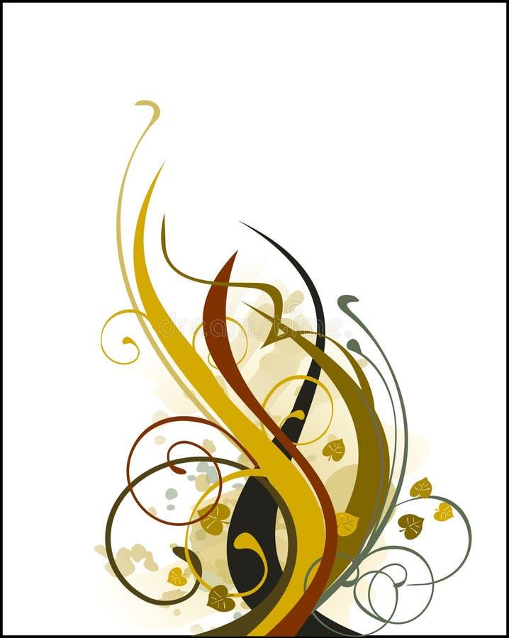 Ornamenti di colore di stile illustrazione di stock