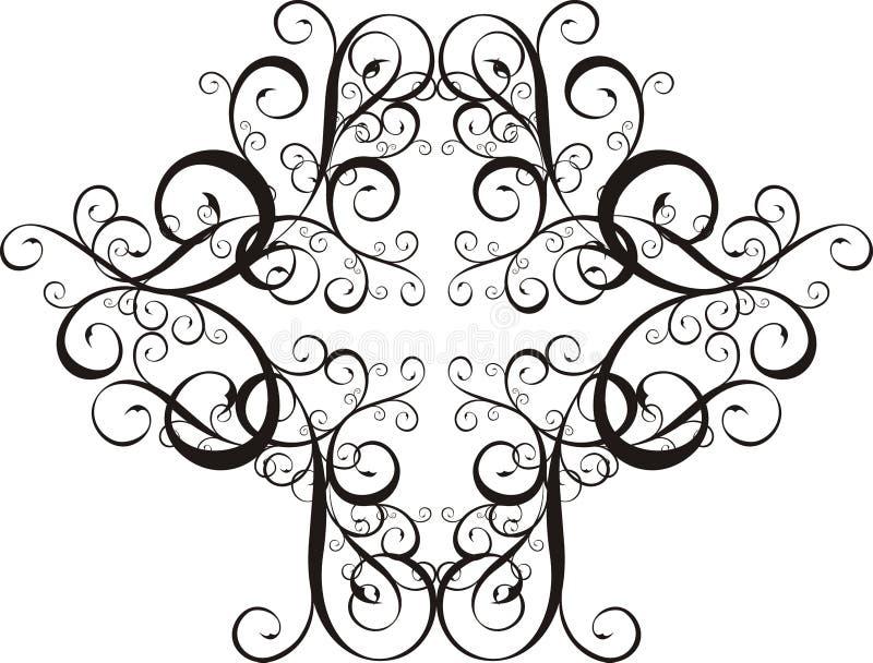 Ornamenti di disegno illustrazione di stock