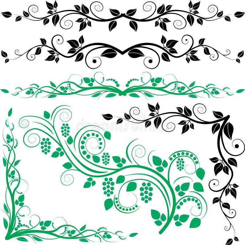 Ornamenti E Bordi Immagine Stock Libera da Diritti
