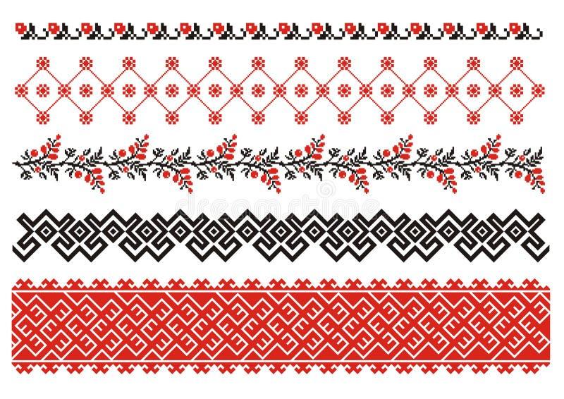 Ornamenti. Insieme 2 illustrazione vettoriale