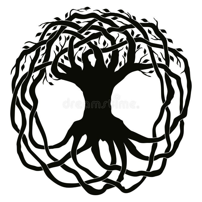Ornamenti nazionali celtici royalty illustrazione gratis