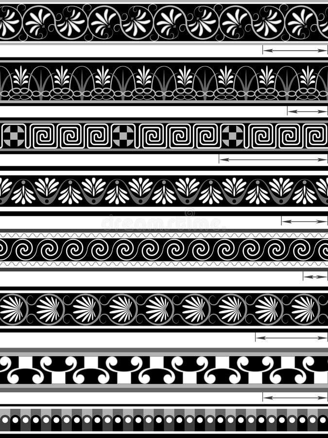 Ornamenti Senza Giunte Fotografia Stock