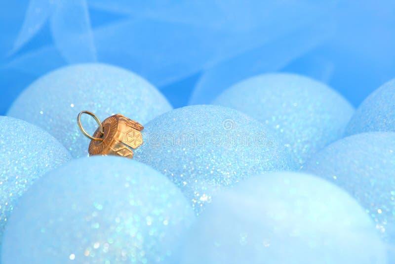 Ornamenti/sfere di natale fotografia stock libera da diritti