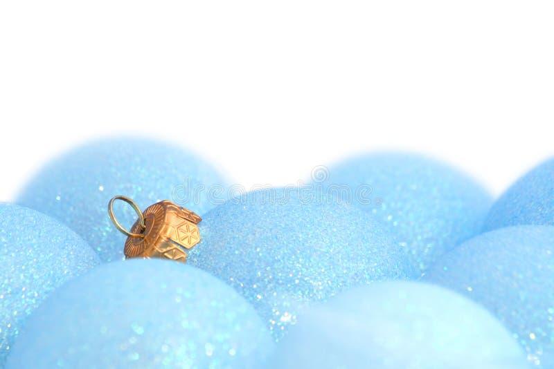 Ornamenti/sfere di natale immagini stock