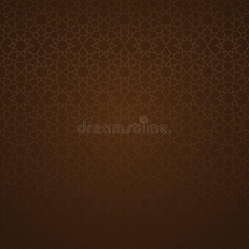 Ornamento árabe tradicional ilustración del vector