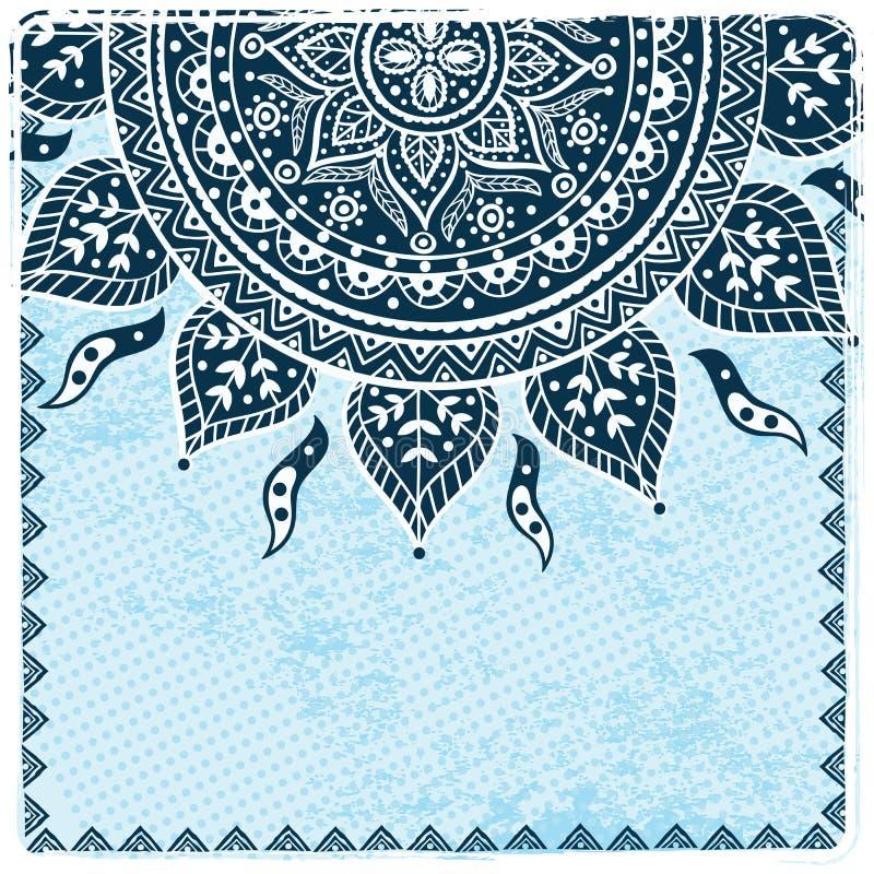 Ornamento étnico bonito ilustração royalty free