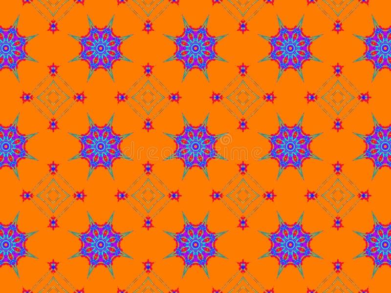 Ornamento étnico colorido Estilo do Arabesque fotos de stock royalty free