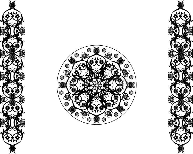 Ornamento illustrazione di stock