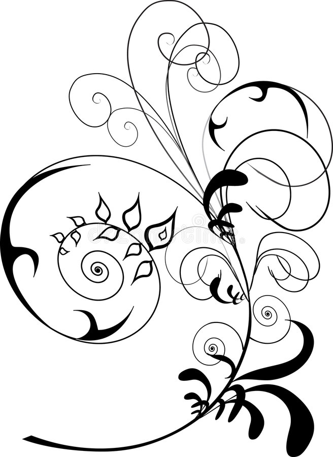 Ornamento illustrazione di stock