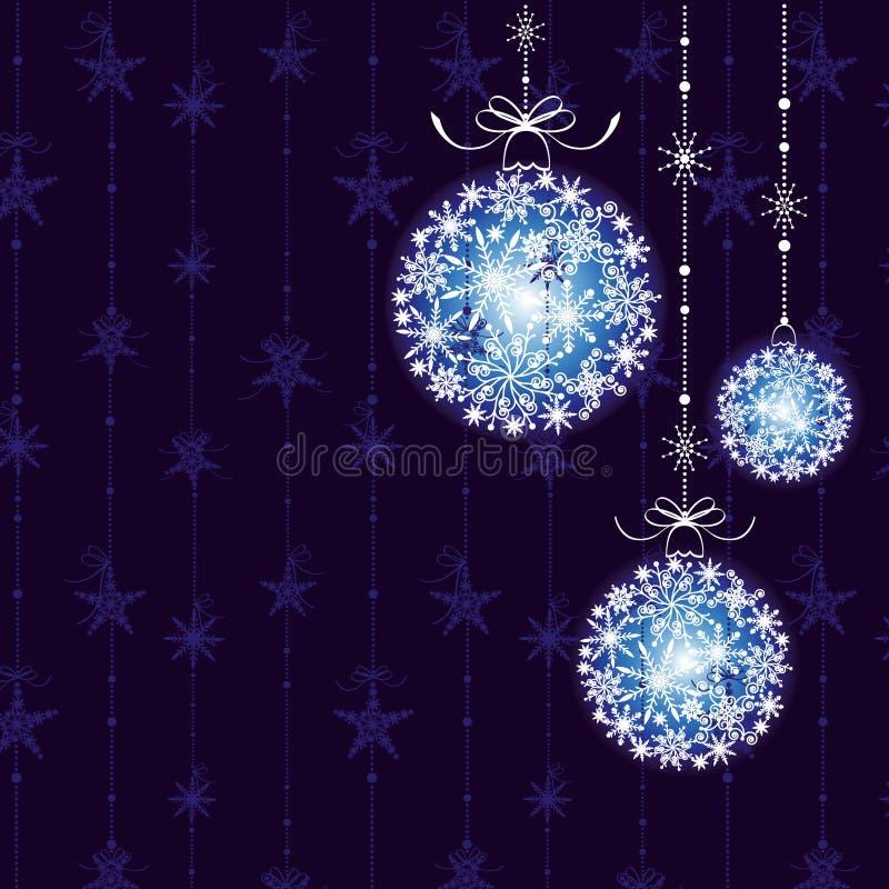 Ornamento abstracto de la Navidad libre illustration