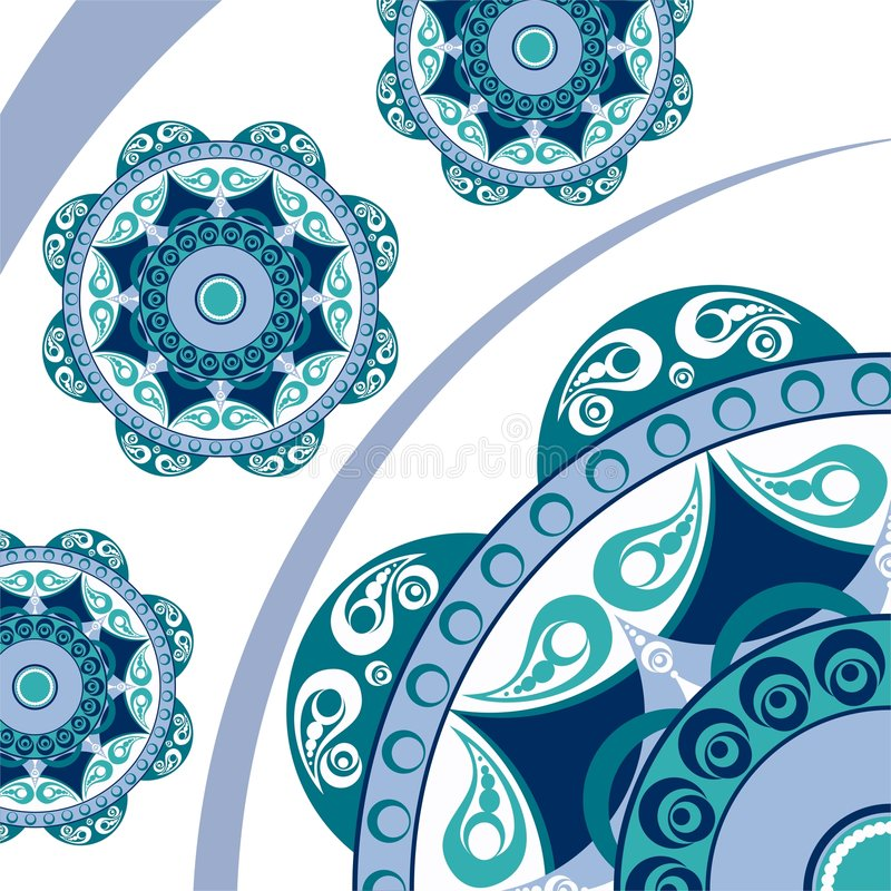 Ornamento abstracto del vector libre illustration