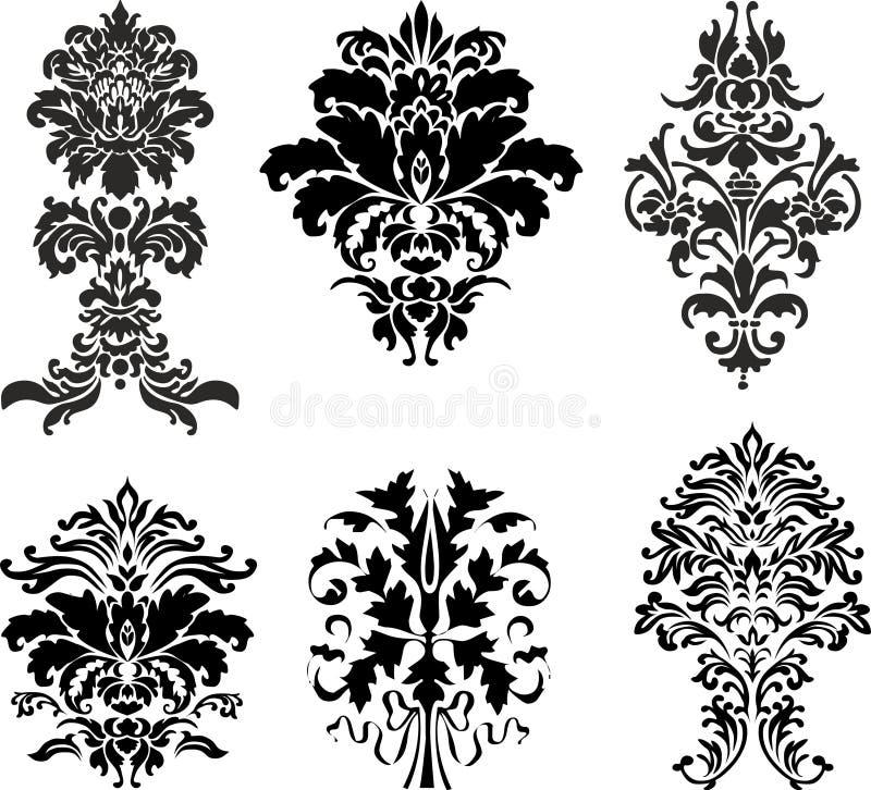 Ornamento abstrato ilustração royalty free