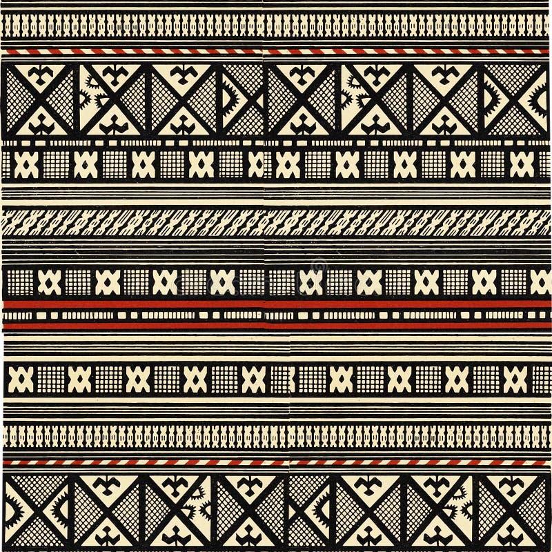 Ornamento africano illustrazione vettoriale