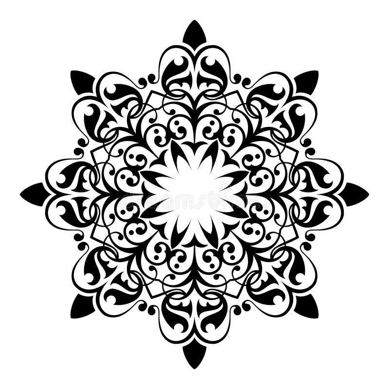 Ornamento antico royalty illustrazione gratis