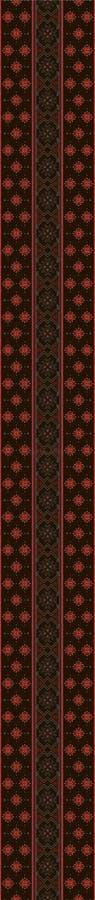 Ornamento antico dello slavo amulet illustrazione vettoriale