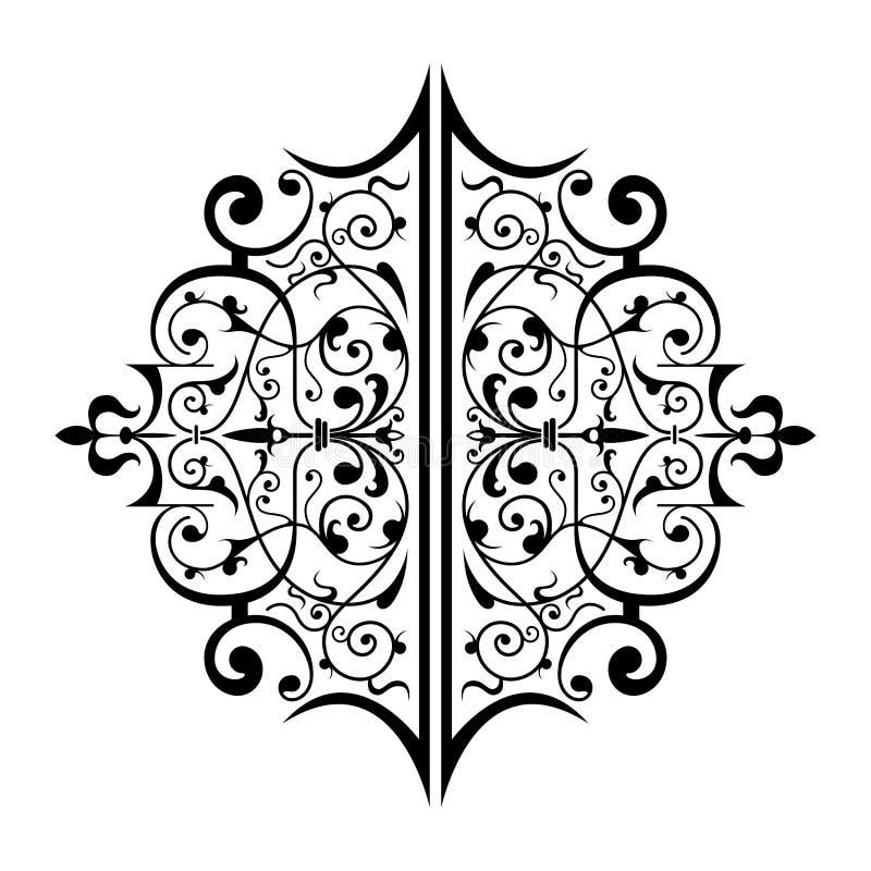 Ornamento antigo ilustração do vetor
