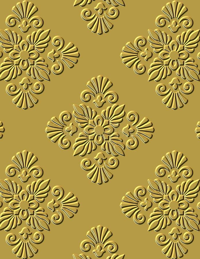 Ornamento architettonico royalty illustrazione gratis