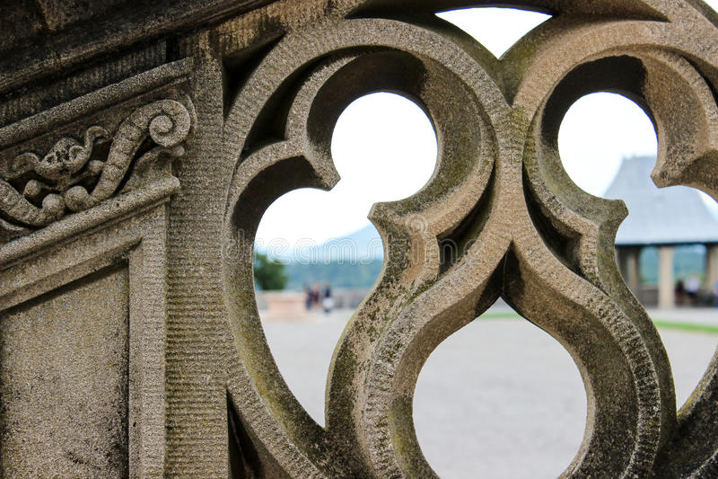 Ornamento architettonico immagini stock