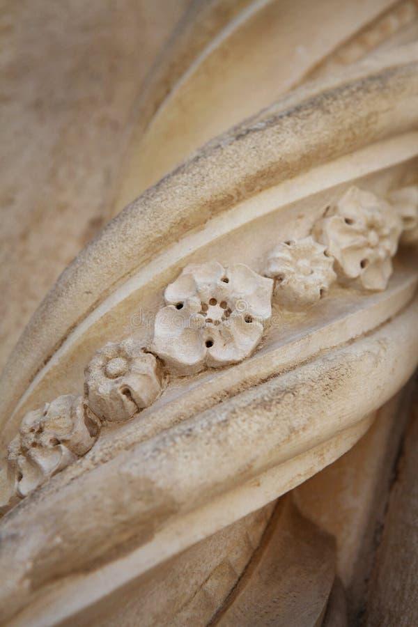 Ornamento arquitetónico fotografia de stock royalty free