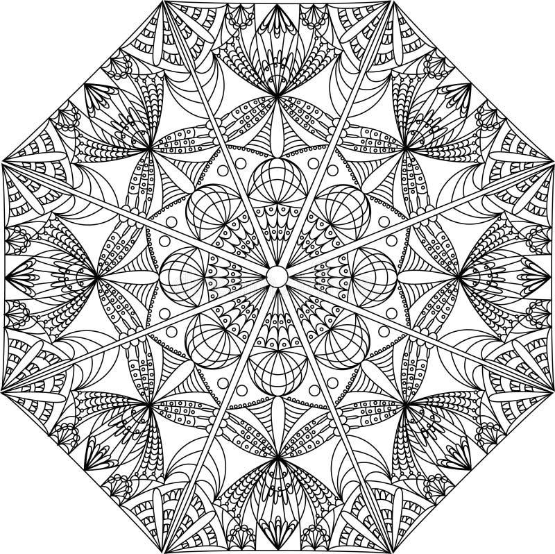 Ornamento artificial ilustração stock