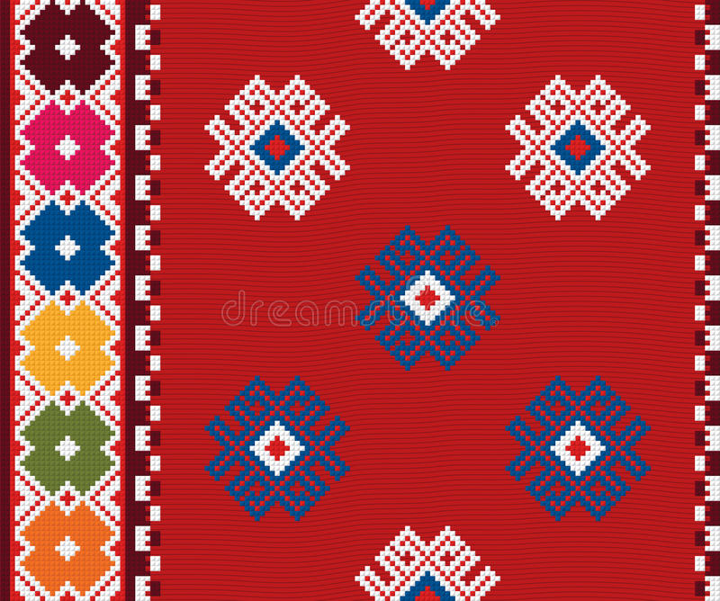 Ornamento búlgaro auténtico 09 libre illustration