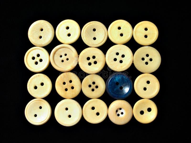 Ornamento blanco 1 de los botones foto de archivo libre de regalías