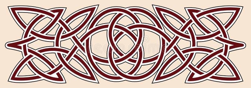 Ornamento celta ilustração do vetor