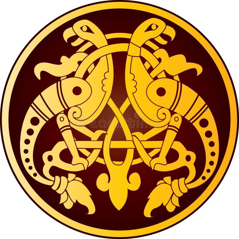 Ornamento celta ilustração stock