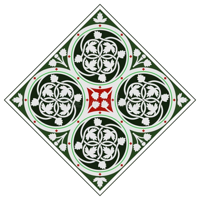 Ornamento celta da telha imagens de stock royalty free