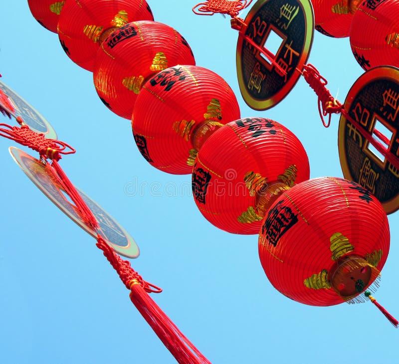 Ornamento chineses do ano novo fotografia de stock royalty free