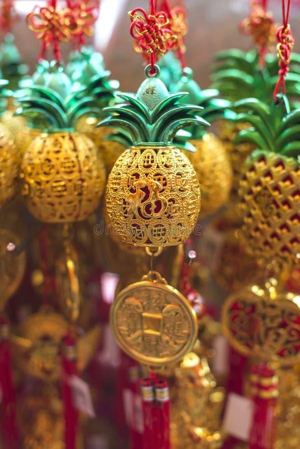 Ornamento chineses do ano novo imagens de stock