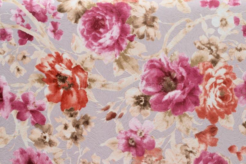 Ornamento con il fondo floreale del modello immagini stock