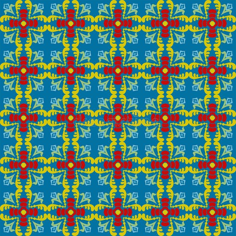 Ornamento cuadrado cruciforme imagen de archivo libre de regalías